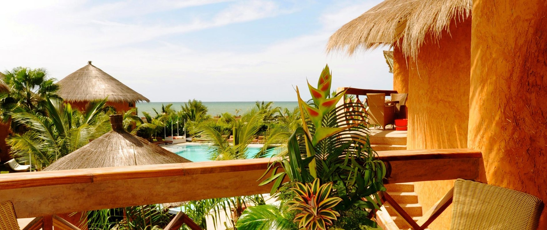 Lamantin Beach Resort Spa 5 Star Hotel In Saly With A View