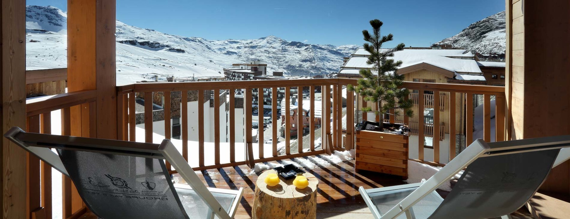 Hotel Pashmina Le Refuge 5 Star Hotel In Val Thorens With A View Millevista
