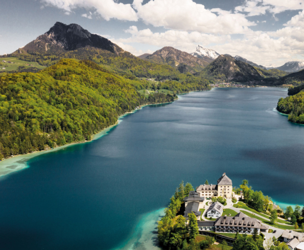 Schloss fuschl, a luxury collection resort & spa, fuschlsee-salzburg